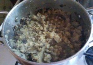 Суп-пюре из сушенных грибов - 1
