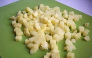 Куриные оладьи с сыром на кефире - 0