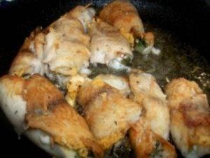 Рыбные рулеты с авокадо и сыром - 2
