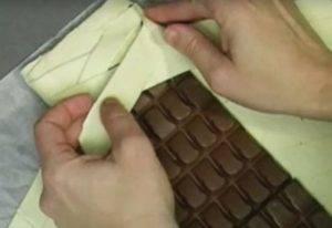 Слоенный пирог с шоколадом - 2