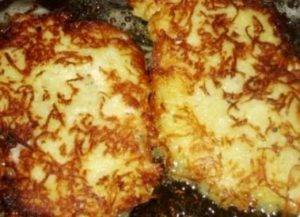 Куриная отбивная в картофельной панировке - 2