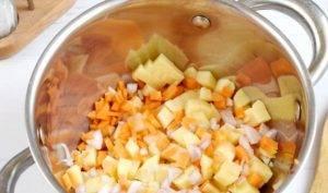 Постный суп-пюре из свеклы - 0