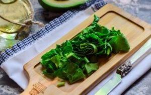 Смузи с авокадо и шпинатом - 0