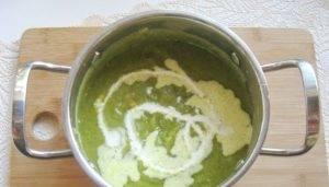 Суп-пюре из кабачков со сливками - 3