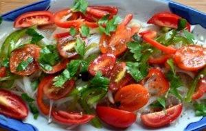 Треска, запеченная с овощами - 1