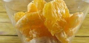 Смузи на кефире с бананом и мандарином - 1