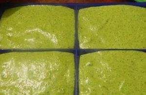Диетические зеленые вафли - 2