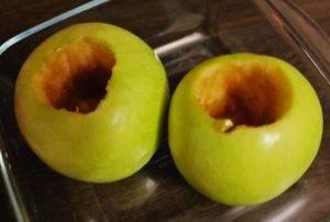 Диетический десерт из творога и яблок - 0
