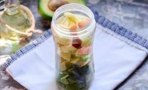 Смузи с авокадо и шпинатом - 2