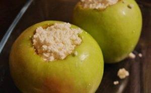 Диетический десерт из творога и яблок - 1