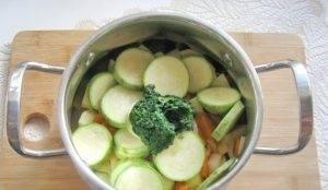 Суп-пюре из кабачков со сливками - 2
