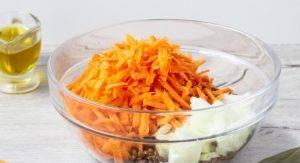 Чечевица с морковью и луком - 0