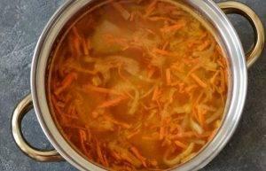 Суп с кольраби - 2