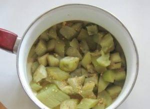 Баклажаны с базиликом и медом на зиму - 0