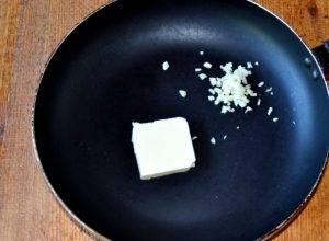 Паста с креветками и шпинатом - 0