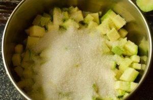 Варенье из кабачков с ананасовым соком - 0