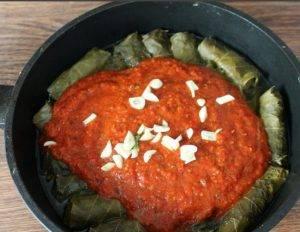 Долма в томатном соусе - 2