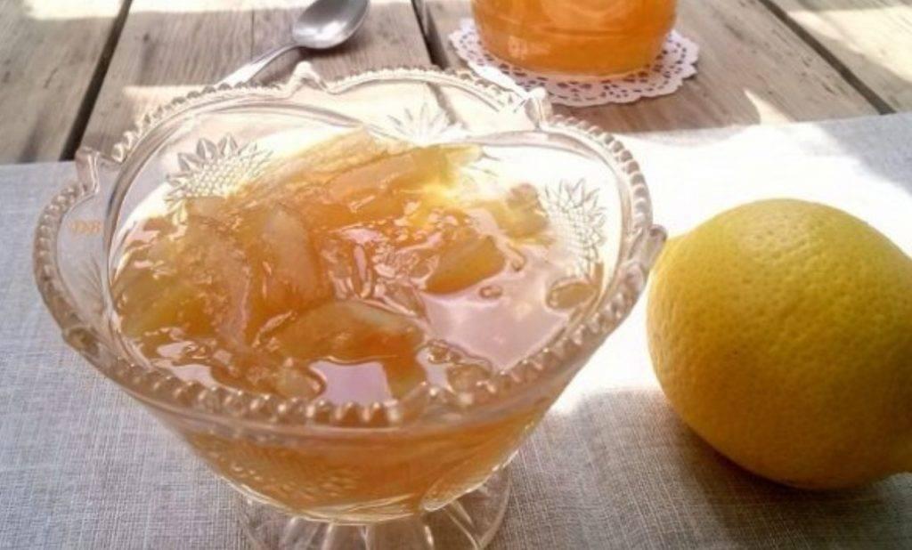 Лимонный джем рецепт с фото в мультиварке