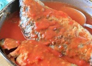 Карась в томатном соусе - 2
