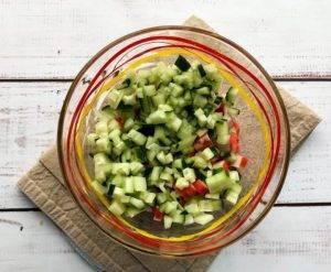 Крабовый салат со сметаной - 0