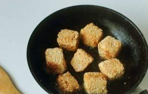 Жареный сыр в кунжуте - 1
