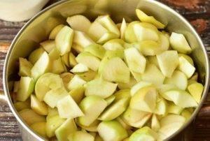 Густое варенье из яблок - 0