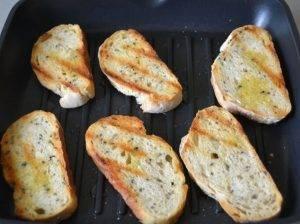 Хлеб с чесночным маслом - 1