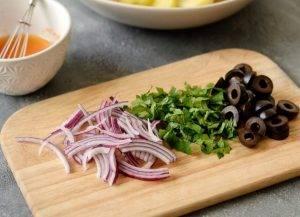 Марокканский картофельный салат - 1