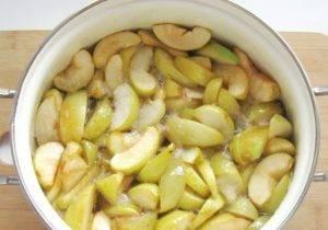 Варенье из яблок и слив - 1