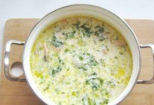 Сливочный суп с красной рыбой - 2