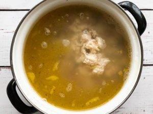 Картофельный суп с перловкой - 1