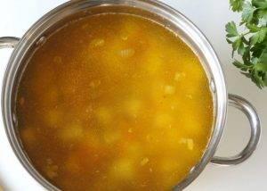 Суп из кролика с гречкой - 1