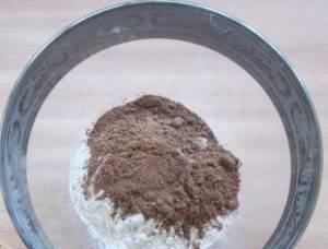 Шоколадный кекс-пудинг - 0