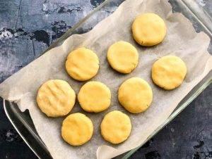 Песочное печенье из кукурузной муки - 1