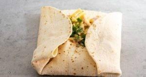 Тортилья с ветчиной и сыром - 1