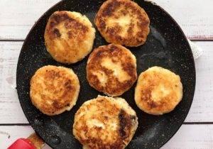Сырники с нутеллой - 1
