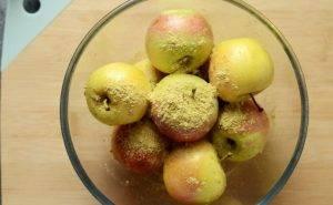 Моченые яблоки с медом и горчицей - 0