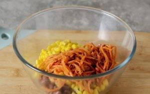 Салат с корейской морковью - 0