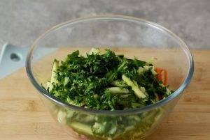 Салат с корейской морковью - 1