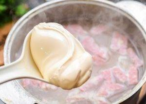 Суп с чечевицей и сыром - 1