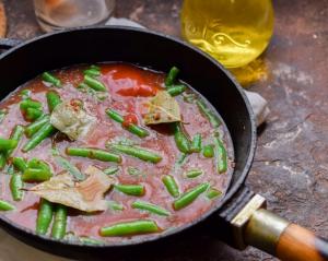 Спаржевая фасоль в томатном соусе - 1