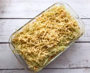 Запеканка с фаршем, капустой и картофелем - 3