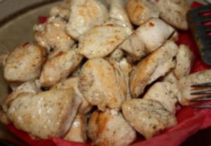 Салат с молодым картофелем и курицей - 0