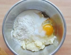 Пшенные оладьи на кефире - 0