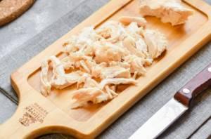 Диетический салат с курицей - 1
