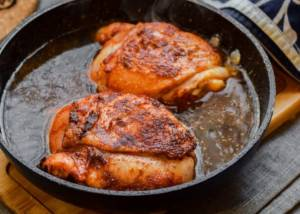 Курица с паприкой - 1